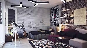jugendzimmer gestalten jungen jugendzimmer junge coole idee und dekoration musik thema lapazca
