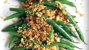 green bean recipes for thanksgiving green beans with spiced breadcrumbs