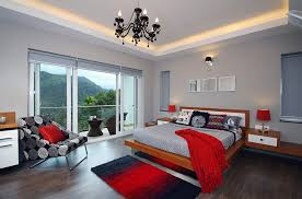 gray and red bedroom polished passion 19 dashing bedrooms in red and gray