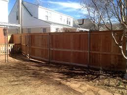 fence repair oklahoma city okc moyer lawn care u0026 landscaping