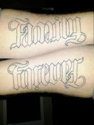 family is forever on chest