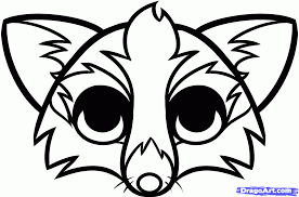 arctic fox clipart fox face china cps