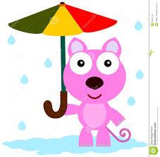 cat u0027s umbrella stock illustration image of illustration 32397139