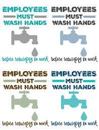 Free Printable Bathroom Art Employees Must Wash Hands Free Bathroom Art Printable