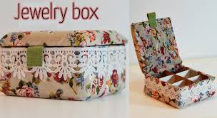 how to make home decor crafts diy craft jewelry box ana diy crafts youtube