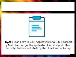 passport renewal tips