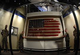 Flag Iwo Jima Flag Froim The Iwo Jima Raising 1945 Preserved In National Museum