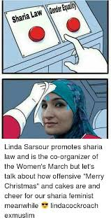sharia awity 0 linda sarsour promotes sharia law and is the co