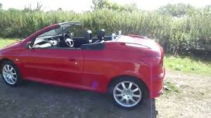 peugeot 206 convertible interior 2006 peugeot 206 cc roof demonstration convertible roof hard top