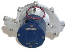 automotive electric water pump amazon com moroso 63585 electric water pump for small block chevy