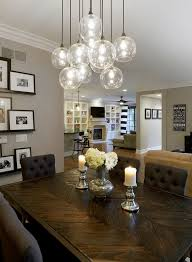 dining table light fixture dining room wonderful white round modern glass chandelier dining