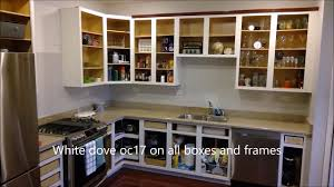 how to paint cherry wood cabinets cherry cabinets painted oc 17 white dove