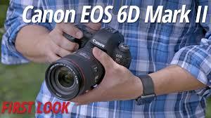 canon eos 6d black friday first look canon eos 6d mark ii b u0026h videos