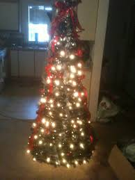pre decorated christmas trees christmas lights decoration