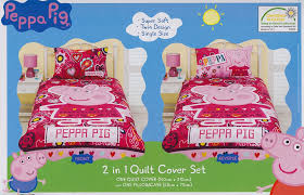 Peppa Pig Single Duvet Set Peppa Pig Quilt Cover Set Peppa Pig Bedding Kids Bedding Dreams