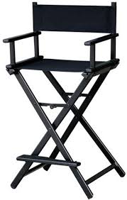 professional makeup artist chair maylan director aluminum lightweight makeup artist chair black