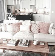Beautiful Living And Dining Rooms  Modern Living Room With White - Living room with white sofa