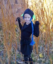 Skylander Halloween Costumes Princess Pea Homemade Ninja Stealth Elf Halloween Costume