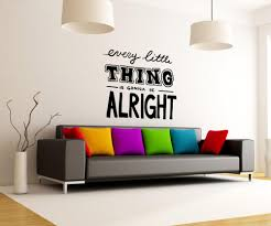vinyl wall decal sticker every little from stickerbrand wall vinyl wall decal sticker every little thing os mb1224