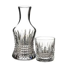 Waterford Crystal Vases Uk Lismore Diamond Bedside Carafe With Small Glass Discontinued