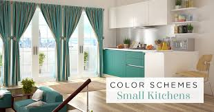 small kitchen paint ideas with wood cabinets smart color schemes for small kitchens