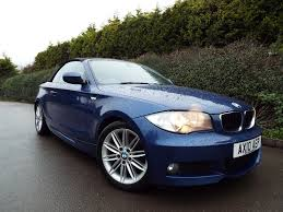 1 Series Convertible Used Bmw 1 Series Convertible 2 0 118d M Sport 2dr In Sandbach