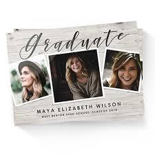 personalized graduation announcements 2018 graduation announcements grad announcements snapfish