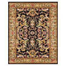 7 X 9 Wool Rug Grand Bazaar Tufted 100 Percent Wool Pile Natasha Rug In Black