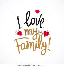 my family excellent gift card stock vector 402211123