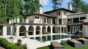 mediterranean style home a mediterranean style home embraces outdoor living in atlanta