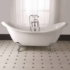 imperial sheraton 1800mm slipper bath with ball g and h cast iron