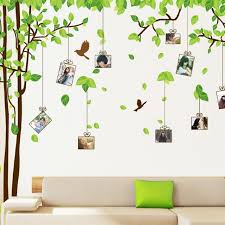 removable family tree wall stickers decals forest of memory photos