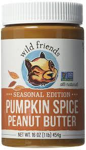 amazon com wild friends foods pumpkin spice peanut butter 16 oz
