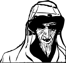 creepy clipart clipart scary old man