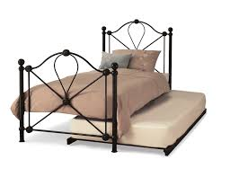 Metal Bed Frames Single by 3ft Single Black Metal Bed Frame Guest Bed