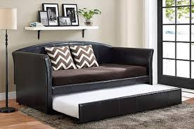 upc 029986401908 daybed with trundle faux leather upholstered