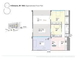 Kerry Campbell Homes Floor Plans by 8 Octavia Street 502 San Francisco Ca 94102 Mls 461382