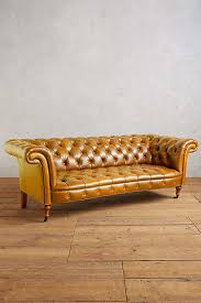 Leather Chesterfields Sofas Grain Leather Chesterfield Sofas