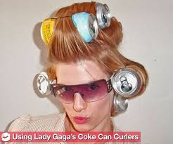 coke blowout hairstyle 8 best pop can rollers the look images on pinterest lash curler