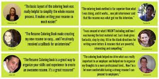 E Resume The Resume Coloring Book Online Course Lea Mcleod Job