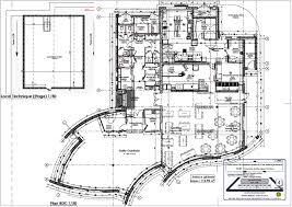 plan d une cuisine de restaurant construction d un restaurant scolaire