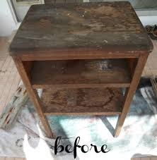 side table paint ideas side table transformation
