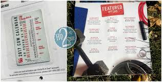 fil a 2017 coupon calendar now available includes 12 free