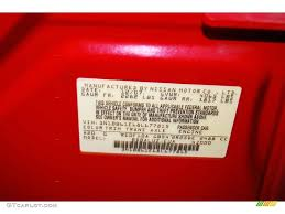 2008 sentra color code a20 for red alert photo 68623283
