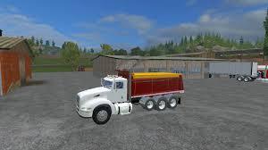 2015 kenworth dump truck 384 peterbilt dump truck v4 mod farming simulator 2015 15 mod