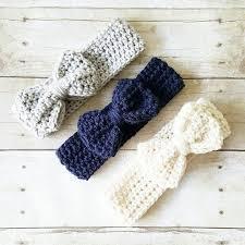 crochet headband for baby crochet baby big bow headband turban newborn infant toddler child