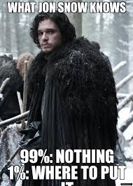 Hate Snow Meme - jon snow weknowmemes generator