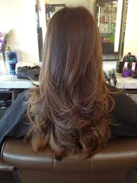 hairstyles with layered in back and longer on sides long layered hair back view long layered curly hair back view long