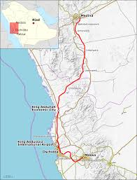 Mecca On Map Bahnstrecke Medina U2013mekka U2013 Wikipedia