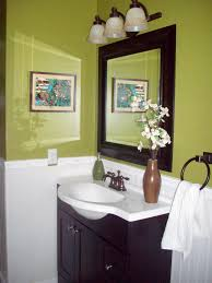 Gray And Yellow Bathroom by Red Bathroom Decor Pictures Ideas U0026 Tips From Hgtv Hgtv